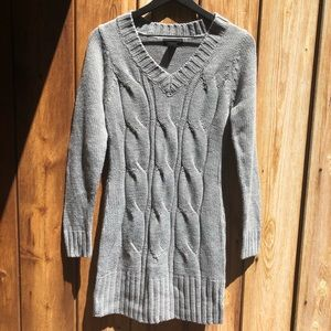 Sweater Project  Grey Knitted Dress